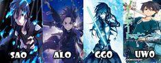 SAO was my favorite so far. Havent seen season 2 so i havent seen GGO or UWO