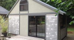 At 280 square feet, this 'Tiny House' is just under 10 x 20 feet and stands 15 feet high.