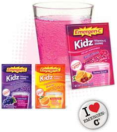 free sample of kids Emergen-C