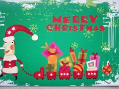 Received from Russia (Atlantidochka) Christmas card Tag