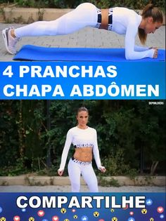 4 pranchas Chapa abdômen 4 boards Abdominal plate Related Post FITNESS RECIPE / Vanilla flan Legs: my custom printable workout by . Fitness Workouts, Fitness Workout For Women, Yoga Fitness, At Home Workouts, Fitness Tips, Health Fitness, Workout Bauch, Physical Fitness, Excercise