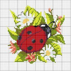 Materiales gráficos Gaby: Almohadòn bordado con plantilla