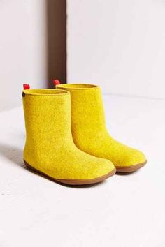 Camper Tweed Slipper Boot - Urban Out