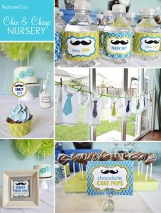 Love this idea for a baby boy baby shower