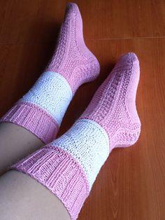 Sam_01641_small2 My Socks, Stitch, Knitting, Pattern, Pink, Fashion, Moda, Full Stop, Tricot