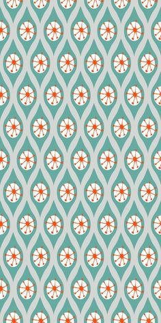 Emily Truong (my friend!) Modern Woodlands Surface Pattern Collection
