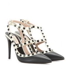 Valentino - Rockstud leather pumps - $1145