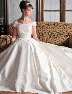 |ザ・ウエディング Stunning Wedding Dresses, Beautiful Dresses, Wedding Looks, Wedding Bride, Gown Wedding, Bridal Dresses, Wedding Styles, Marie, Ball Gowns