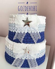 Penye Sept Diy Crochet Basket, Crochet Bowl, Crochet Basket Pattern, Knit Basket, Knit Crochet, Knitted Bags, Knitted Blankets, Sweet Home Design, Crochet Storage