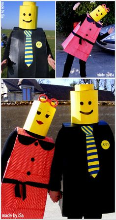 Costumes Lego ©made by iSa