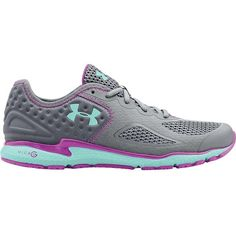 Under Armour Women's Micro G Mantis II Shoe ($88) ❤ liked on Polyvore featuring shoes, athletic shoes, synthetic shoes, traction shoes, famous footwear, under armour athletic shoes and under armour