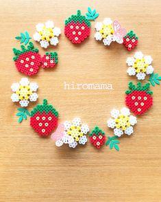 Hama Beads Design, Diy Perler Beads, Hama Beads Patterns, Pearler Beads, Beading Patterns, Bead Crafts, Diy And Crafts, Crafts For Kids, Arts And Crafts