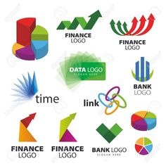 Vector Icons For Banks And Financial Companies Stock Vector - Illustration of debit, coin: 31035769 Data Logo, Bank Financial, Banks Logo, Finance Logo, Vector Icons, Investing, This Or That Questions, Logos, Illustration