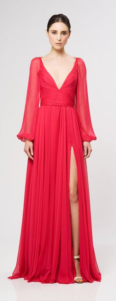Reem Acra Ready To Wear 2013 Collection- this would be perfect in white or blush
