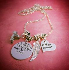 I use to be his angel now he's mine - Angel - Memorial - pinned by pin4etsy.com