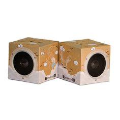 Recycled Cardboard Speakers