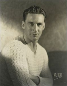 "George O'Brien, Silent Film Star, 1927 Normally I do not pin ""celebrity"" but, this photo is great."