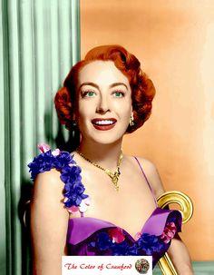 Joan Crawford in Living Color!