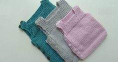 Side Button Easy Baby Vest How? (The beginning Last Lecture) - knitting patterns - knitting Baby Knitting Patterns, Baby Sweater Patterns, Knitting For Kids, Easy Knitting, Knitting Designs, Baby Patterns, Baby Pullover Muster, Knit Vest Pattern, Kids Vest