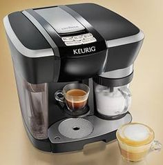 The simplicity of the Keurig Rivo System technology enables you to brew espresso and froth any type of fresh milk at the touch of a button at home. Add Lavazza espresso and you have the perfect cappuccinos, lattes and more. Simple. Quick. Easy.