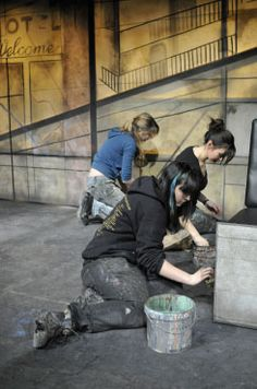 RADA programme in Scenic Art