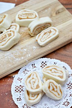 Old Fashioned Peanut Butter Pinwheels