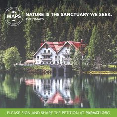 Whether you are by the water's edge or in a busy city, Nature supports you in immeasurable ways. All life on Earth depends on a healthy Arctic ecosystem, the planet's air conditioning system. Please sign and share the MAPS (Marine Arctic Peace Sanctuary) petition at Parvati.org today. Thank you