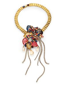 Erickson Beamon - Happily Ever After Tassel Bib Necklace - Saks Fifth Ave