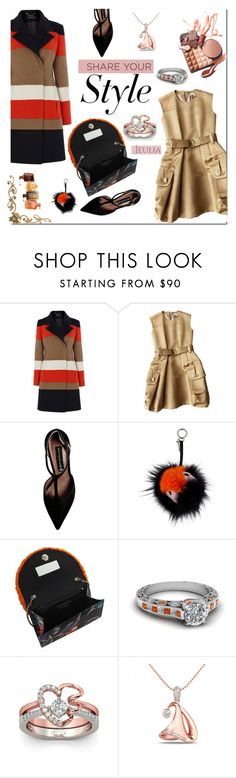 """""""My style ,my fashion - Jeulia jewerly"""" by e-mina-87 ❤ liked on Polyvore featuring Marc Jacobs, Steve Madden, Fendi, Sarah's Bag, Avon, women's clothing, women, female, woman and misses"""