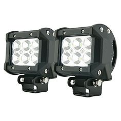 TMS LED-XT-18W30D-K 18W 1260LM CREE Spot Led Work Light Bar Black for off-Road SUV Boat 4x4 Jeep, 2 Piece, http://www.amazon.com/dp/B00EA0ZB7I/ref=cm_sw_r_pi_awdm_xs_ZhjmybS9VK2CS