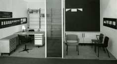 Martela in the Cologne Furniture Fair year 1958.