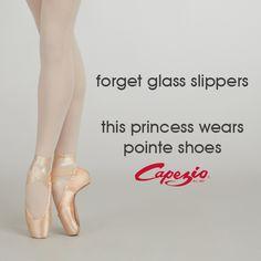 Sweat like an athlete. Look like a princess. // dance, dancers, dancer, ballet, pointe shoes