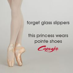 Sweat like an athlete. Look like a princess. // dance, dancers, dancer, ballet, pointe shoes