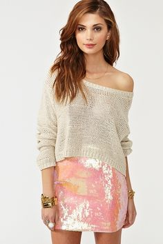 This skirt is something I'd wear just because it reminds me of my childhood dress-up days