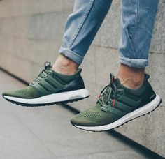 Forest green ultra boost