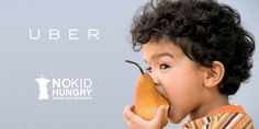 Uber Launches No Kid Hungry Campaign Marketing Program, Good Cause, Children In Need, Public Relations, Brand Identity, Branding, Digital Marketing, Promotion, Campaign
