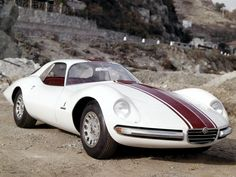 Alfa Romeo Giulia 1600 TZ2 Coupé Pininfarina 1965.