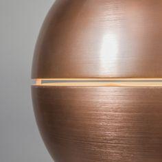 Lampa wisząca Slice 50 miedź