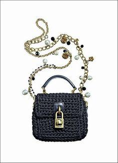 Crochet Bowl, Knit Crochet, Mk Handbags, Basket Bag, Crochet Purses, Knitted Bags, Crochet Fashion, Learn To Crochet, Evening Bags