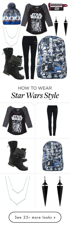 """Star Wars"" by my-abbs on Polyvore featuring Hybrid and Oasis"