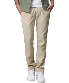 Check out this Gorgeous mens clothing style Slim Joggers, Jogger Pants, Mens Dress Pants, Men Dress, Men Pants, Kaki Pants, Mens Clothing Styles, Men's Clothing, Mens Fashion