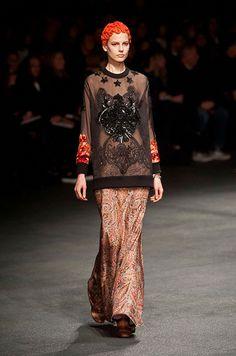 Défile Givenchy Prêt-à-porter Automne-hiver 2013-2014 - Look 36