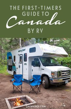The first-timers guide to exploring Canada by RV motorhome. All the tips and hints you need for an epic Canadian road trip adventure.