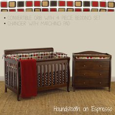Nursery Furniture Packages http://www.cottontaledesigns.com/collections/furniture-package-4-pc-bedding