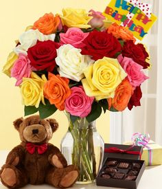 proflowers rainbow roses reviews