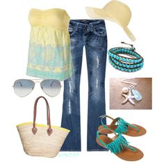 """""""Fun in the sun"""" by srose38 on Polyvore"""