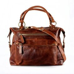 The Leather Store Brown Leather Handbag Zip Tote Prada Handbags, Luxury Handbags, Tote Handbags, Purses And Handbags, Cheap Handbags, Luxury Purses, Designer Handbags, Suede Handbags, Fossil Handbags