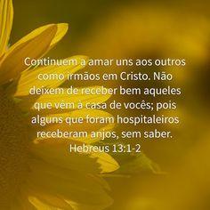 Hebreus 13:1-2