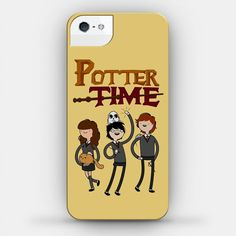 iPhone Case: Potter Time - iPhone 5, iPhone 4/4S on Etsy, $28.00