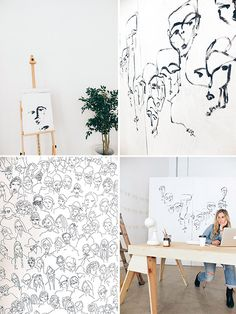 studio tour / carly kuhn.